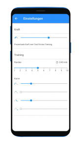 Android Pelvic Training_Settings ohne schatten